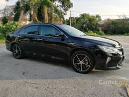 all black toyota camry toyota camry 2015 hybrid 2 5 in kuala lumpur automatic sedan black