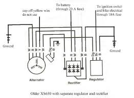 xs650 chopper wiring diagrams