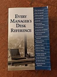 Dsm 5 Desk Reference Every Manager U0027s Desk Reference By Alpha Books Staff 2002