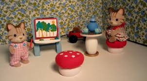 Calico Critters Play Table by Shades Of Tangerine Calico Critter Play Room