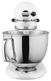 Kitchenaid Mixer Classic by Kitchenaid 5 Quart Artisan Stand Mixer Matte White Everything