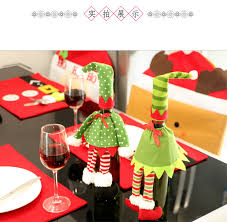 aliexpress com buy 1pc red wine bottle cover bags christmas