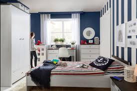 porto brw kids room study furniture set polish black red white