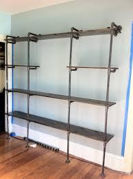 Home Interior Shelves Wall Shelves Design Adjustable Wall Mounted Shelving For Garage