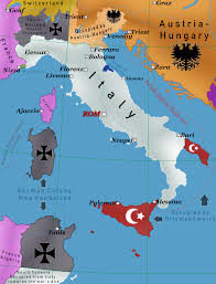 Ww1 Map Italy After Central Powers Victory In Ww1 By Iasonkeltenkreuzler