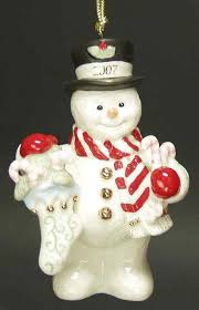 best lenox snowman ornament