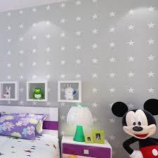 wallpaper kids bedrooms stars light grey wallpaper kids room wall paper boys bedroom
