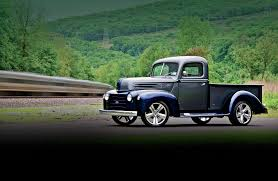Old Ford Trucks Pictures - 1947 ford f 1 last in line rod network