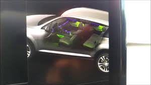 2017 audi q7 how to change led interior lighting color youtube
