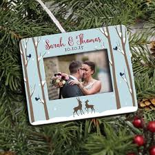 personalized photo ornaments by peachwik