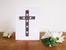 religious easter greeting card ideas falling leaf card co