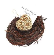 bird seed favors bird seed hearts handmade wedding favors by nature favors