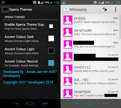 the system accent color of your xperia device easily with xposed