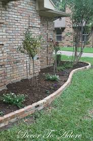 nice flower bed edging brick 35 in with flower bed edging brick