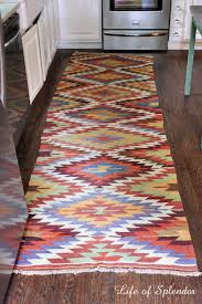 Diy Kitchen Rug When The Mr Says No Goodbye Rug