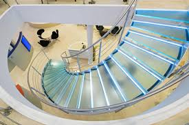 Helical Staircase Design Helical Stairs Glass Twe 352 Glass Stairs From Eestairs Architonic