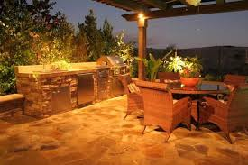 Outdoor Kitchen Lights 37 Outdoor Kitchen Ideas U0026 Designs Picture Gallery Designing Idea