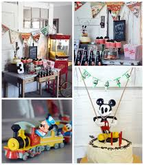 kara u0027s party ideas vintage mickey mouse themed birthday party