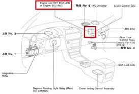 toyota camry questions where is the ecu located in 97 toyota