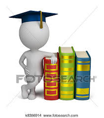 graduation books drawings of 3d small graduate and books k8356914 search