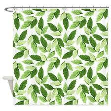 Leaf Design Curtains Leaf Pattern Shower Curtain Wet Shower Curtains