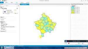 Thematic Map Definition How To Create Thematic Map Youtube