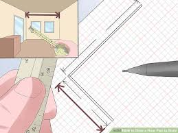 Sketch Floor Plan How To Draw A Floor Plan To Scale 7 Steps With Pictures