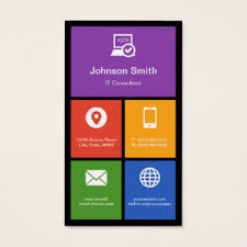 information technology business cards business card printing