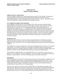 tension testing laboratory1 yield engineering ultimate