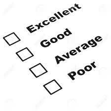 customer satisfaction survey form with checkbox showing marketing