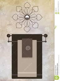 hanging towels in bathroom home design ideas