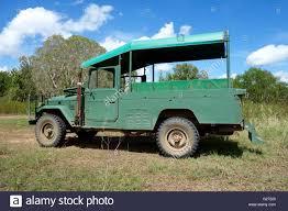 old land cruiser an old passenger toyota land cruiser safari style four wheel drive