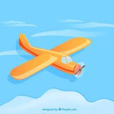 imagenes animadas de aviones avión en estilo de dibujos animados descargar vectores gratis
