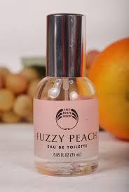 the vintage perfume vault whole lotta love body shop fuzzy peach edt
