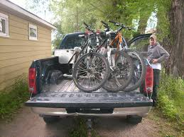 motocross bike carrier building your own bike rack for the truck bed mtbr com
