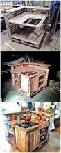 pallet kitchen island best and easy wood pallet reshaping ideas diy motive