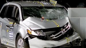 2017 minivan honda 2014 honda odyssey crash test youtube