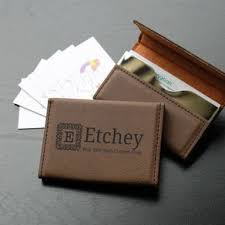 custom business card holders personalized business card cases