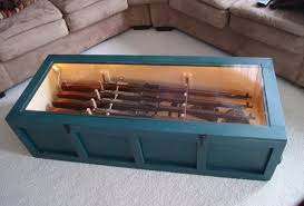 Gun Cabinet Coffee Table by Collection In Display Case Coffee Table Coffee Table Display Case