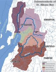 map of st albans saawa watershed map