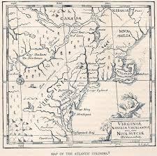 Map East Coast 1700 U0027s Pennsylvania Maps