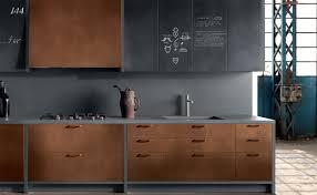 cuivre cuisine cuisine type industriel meuble cuivre bois brut gamme bois 2017