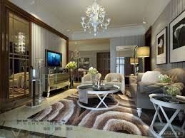 simple luxury living room design on modern home interior design