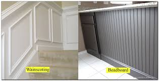 beadboard vs wainscoting wainscoting success how to install