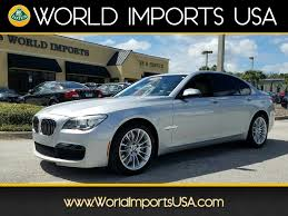 used 2013 bmw 750 ia msport sedan for sale in jacksonville fl