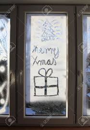 Christmas Window Decorations by Christmas Window Glass Decorations U2013 Decoration Image Idea