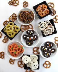 gourmet halloween chocolate halloween pretzels easy fast and fun the monday box
