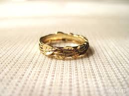 leaf wedding band gold leaf wedding ring gold wedding leaf ring leaves wedding