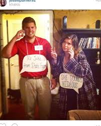 Inappropriate Couples Halloween Costumes 25 Funny Couple Costumes Ideas Funny Couple