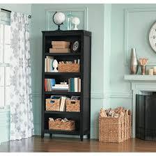 How To Make A Bookshelf In Mc Carson 5 Shelf Bookcase Threshold Target
